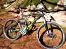 "Mountainbike Red Bull ""Tusk Carbon"""